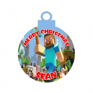 MInecraft Acrylic Christmas Ornament Decoration